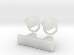 1:96 scale Search Light Wall Stand - set of 2