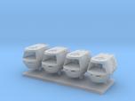 1/350 TMP Travel Pod Four Pack