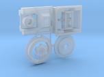 Moebius EVA Pod: Red Box, Door Handle, Handwheel