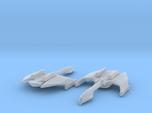 Romulan Firehawk Class 1/7000 Attack Wing x2