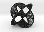Borromean Rings Seifert Surface (10cm)