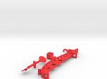 Wagomu plane 3D print parts only