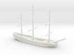 17th century frigate w/ mast, 1/800