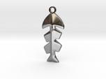 Fishbone Pendant