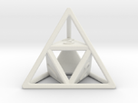 """""""Open"""" d4 - Four-sided die"""