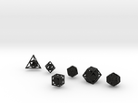"""Open"" dice set: 6 dice!"