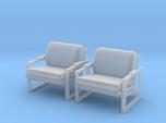 1:48 Metal Framed Chair