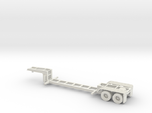 HO 1/87 MSW Trash Train Lowboy road trailer