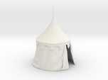 Medieval round tent for 25mm miniatures