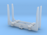 1/87th HO scale log bunk set of 2 with angled top
