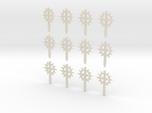12 28mm Sun Sword Symbols
