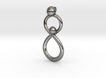 Infinite Mother And Child Pendant