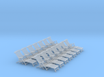 1:48 Titanic Deck Chair, Set of 12