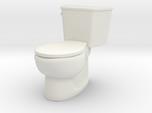 1:24 Tank Toilet (Not Full Size)