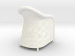 Wicker Chair in 1:12, 1:24