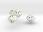 Regular Dipyramidal Dice Set