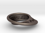 Moebius Ring with Continuous Text