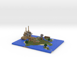 Pirate Island via Mineways!
