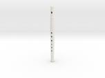 Folk flute, soprano, tapered bore