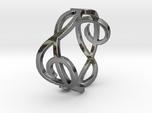 Treble Clef Ring 2