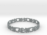 Silver Filigree Bracelet - Medium