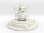 Miniature artillery turret medium