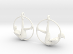 "earrings ""Hoop girl1"""