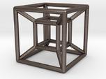 "1"" Wireframe Hypercube"