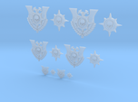 Compass Skull - 12 Icons Various Size