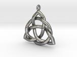 Triquetra Pendant or Trinity Knot Pendant