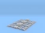 Set 3 OO (1:76) scale K2 telephone boxes