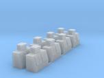 HO-Scale Slant Double Door Ice Cooler (8-Pack)