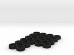 1/64 Trailer Tires  (x20)