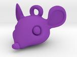 Mouse-head keychain