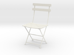 "Bryant Park Bistro Chair 3.7"" tall"