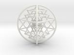 3D Sri Yantra 4 Sided Optimal Large