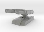 Twin barrel defensive cannons