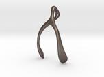 Whishbone pendant