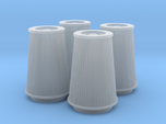 1/18 K&N Cone Style Air Filters TDR 4970