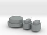 Buttons - Complete Set - Plastics