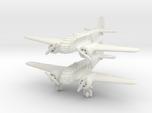 Caproni Ca.311 (2 airplanes) 6mm 1/285