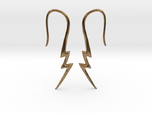 Lightning Bolt Earrings - 16g