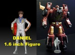 Daniel homage Space Boy 1.6inch Transformers Mini-