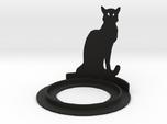 Halloween Cat Tea Candle Holder