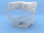 Frontabstützung für LKW-Ladekrane