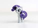 My Little Pony - Rarity (≈65mm tall)