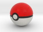 Original Poké Ball 8cm in diameter.