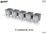 5 Container Bins (1:160)