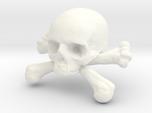 12mm .47in Skull & Bones for earring