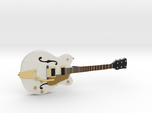 Big Old Style Hollow Body Guitar 1:18